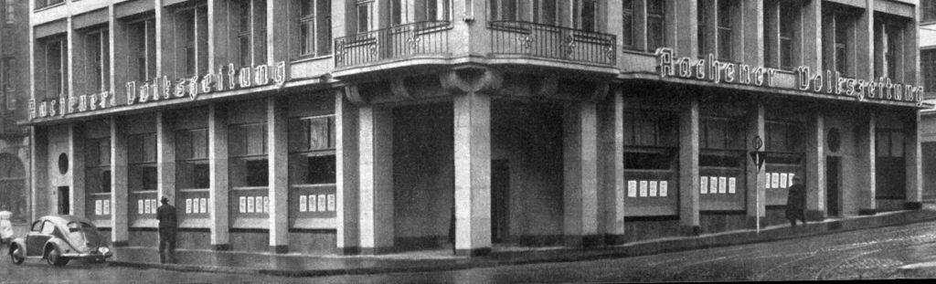 1951: Fertigstellung des Verlagsgebäudes Theaterstraße