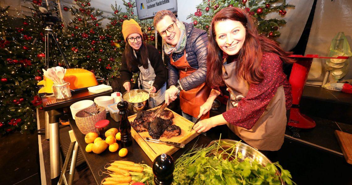 Weihnachtsmarkt // Abend der Köstlichkeiten